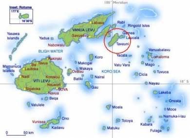 Taveuni Map